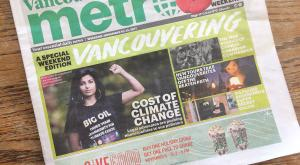Metro news climate cover story